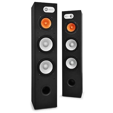 Skytronic paire d'enceinte hi-fi à 3 voies 960 w