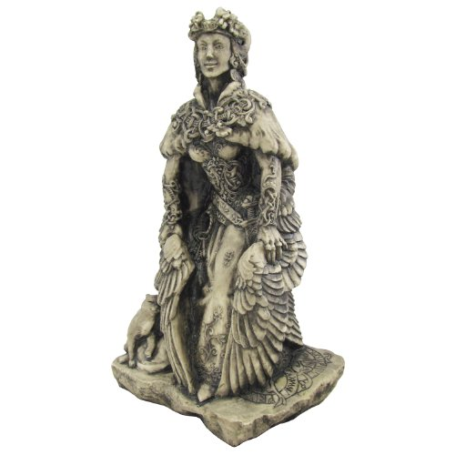 a description of freya the goddess of love and beauty Not only was she a beautiful figure, goddess of love and fertility, she was also  associated with war, battle, wealth, death and a particular form of.