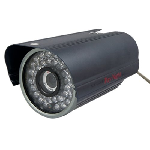 "Aluminum Shell 8Mm Lens 1/3"" Ir Ccd Infrared Day Night Cctv Camera"