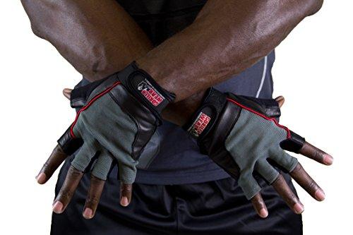 gorilla wear Training Gloves Black / Gray (S) (Gorilla Gloves)