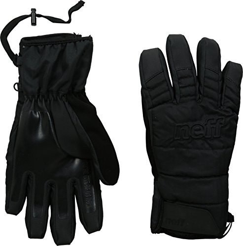 neff Men's Digger Glove, Black, X-Large (Winter Gloves With Removable Tips compare prices)