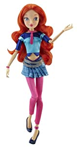 "Winx 11.5"" Basic Fashion Doll Concert Collection - Bloom"