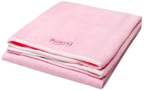 Diva Darling Terry Hair Towel, Pink