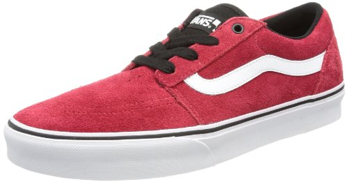 Vans M COLLINS (SUEDE) CHILI P Men's Trainers Red Rot ((Suede) chili pepper) Size: 10.5 (44.5 EU)