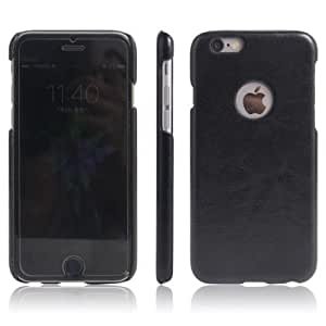 Americhome TM Series Artificial Leather Back Cover For Iphone 5 (Black)