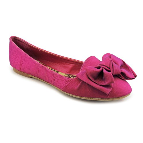 Madden Girl Hyppe Flats Shoes Purple Womens New/Display UK 5