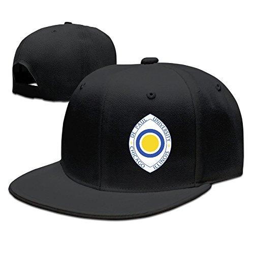 GXGML Depaul University+eyeCLASSIC Fashion Unisex Baseball Adjustable Cap Fitted Hats Black (Saxophone Cake Pan compare prices)