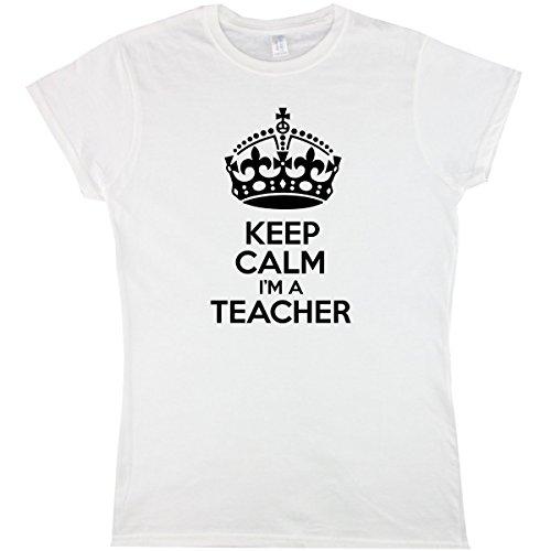 six-pound-tees-Camiseta-Mujer-Blanco-blanco-Small