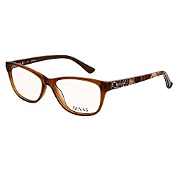 GUESS Leopoard finish Cateye Power glasses or Computer Glasses (GU2513 045)