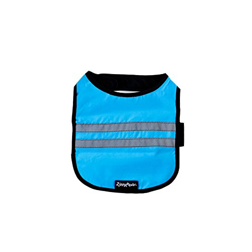 ZippyPaws Adventure Cooling Safety Vest for Dogs (Small, Blue)