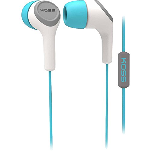 Koss Keb15I In-Ear Headphone, Teal
