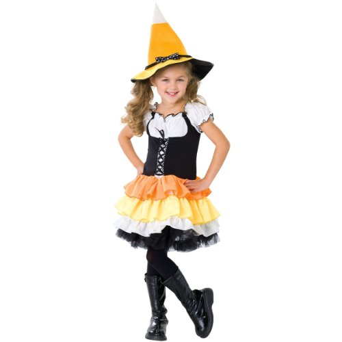 Kandy Korn Witch Child Costume - Large