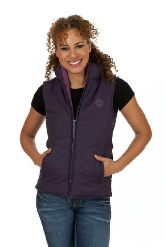 Sherwood Wister Ladies Gilet – 3 Colours!: Purple/Grape: 16