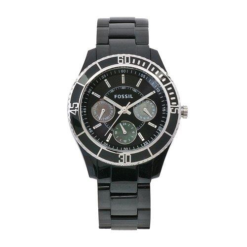 Fossil Women's ES2541 Stella Multifunction Black Dial Watch