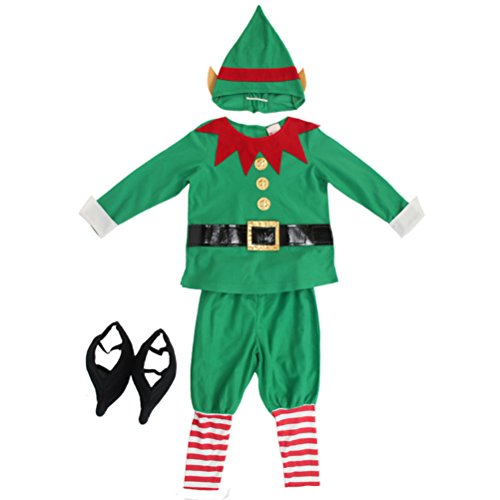 FashionFits Boy's Christmas Elf Child's Costume