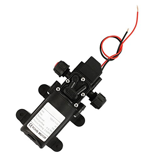 6L/Minute DC 12V 70W Motor Electric High Pressure Diaphragm Self Priming Water Pump for Refilling Aquarium Washing Car Flooding Ship from USA (Large Well Pump Cover compare prices)