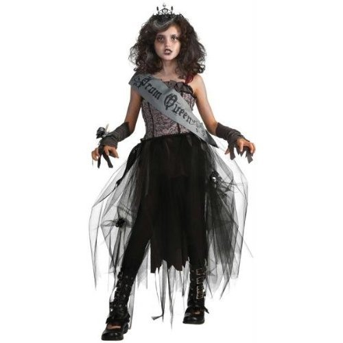 Costumes For All Occasions RU884782SM Goth Prom Queen Child Small