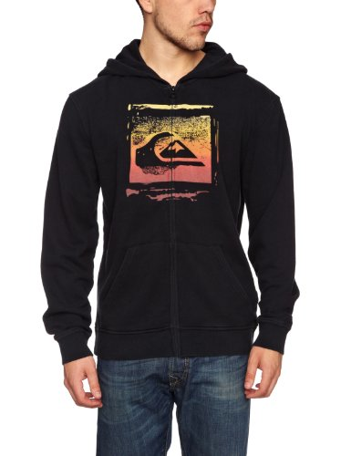 Quiksilver Base Line Hoodie Men's Sweatshirt Black X-Large