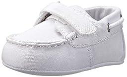 Ralph Lauren Layette Sander EZ Loafer (Infant/Toddler),White,2 M US Infant