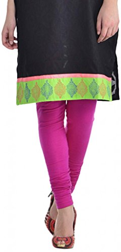 Sohniye Women's Cotton Leggings [RaspBerry]