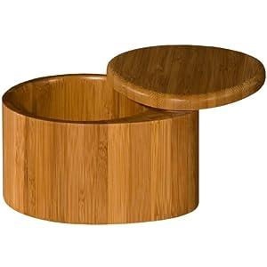 Totally Bamboo Salt Box, Large