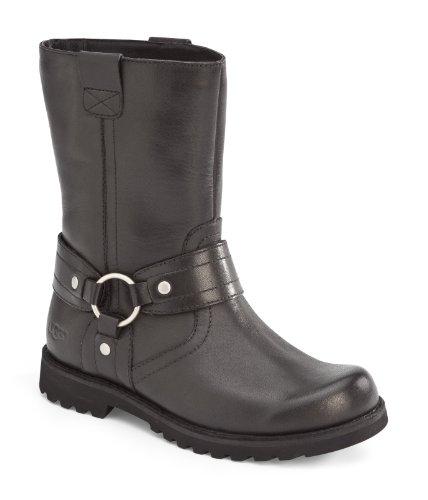 Ugg Big Kids Chandler Boot Black Size 4 M Us Big Kid