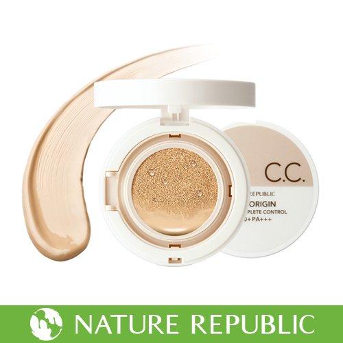 ネイチャーリパブリック スーパーオリジン クッション コンプリート コントロール 21号 明るい肌色