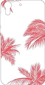 Go Hooked Designer Soft Back cover for HTC Desire 626 + Free Mobile Stand (Assorted Design)