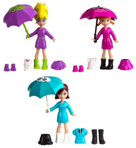 Polly Pocket X1212 - Pp Muñecas Día De Lluvia (Mattel)