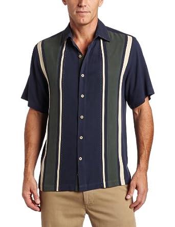 Nat Nast Men's A+ Block Panel Front Shirt, Peacoat Blue, X-Large