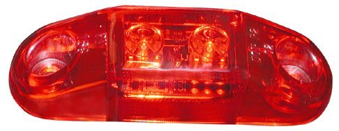 Peterson Manufacturing V168R Red Clearance Light