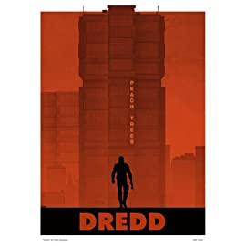 Judge Dredd Poster Art Print By Matt Ferguson (MSP 0020)
