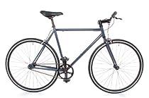 Fixed Gear Single Speed Track Bike - Fixie Small 50cm Grey