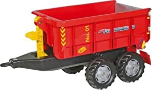 Awesome Red Child's Container Truck --