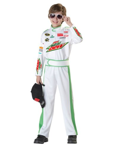 boys - Dale Earnhardt Jr Kids Costume Md Halloween Costume