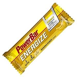 POWERBAR Energize Bar (Box of 25), Banana Punch