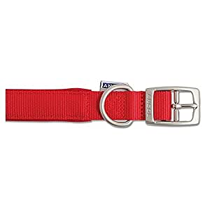 Ancol Air Hold Padded Dog Collar Red 26""