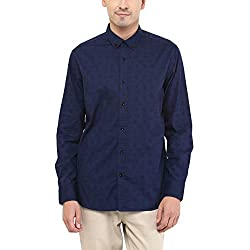 F Factor by Pantaloons Casual Shirt_Navy_42