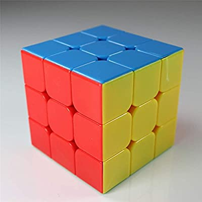 GoodPlay YJ Yulong Stickerless Smooth 3x3x3 Speed Cube Puzzle(+one customized cube bag) by GoodPlay