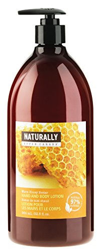 Upper Canada Soap Naturally Hand and Body Lotion, Warm Honey Nectar, 32.5-Ounce (Naturally Upper Canada Lotion compare prices)
