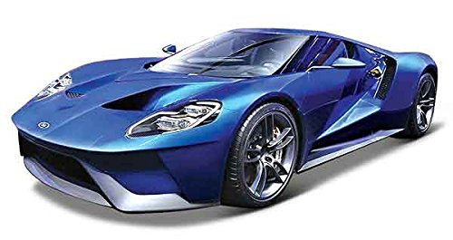 2017 Ford GT Blue 1/18 by Maisto 31384 (Ford Gt Model compare prices)