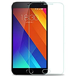 Epresent Tempered Glass for Meizu Mx5 Tempered Glass Screen Guard for Meizu Mx5 Screen Protector for Meizu Mx5