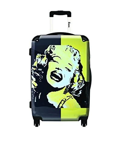 Ikase Auto-Portrait De Marilyn Monroe Rolling Luggage , Multi, 10X16X24