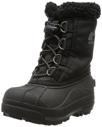 Sorel Youth Cumberland II Childrens Winter Boots Black Schwarz (Black 010) Size: 7.5 UK Childrens (25 EU)