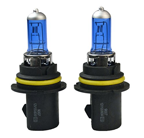 9007 HB5 12V 100/80W Car Halogen Headlight Bulb 5000K (Pack of 2) (Automobile Headlight Bulbs compare prices)