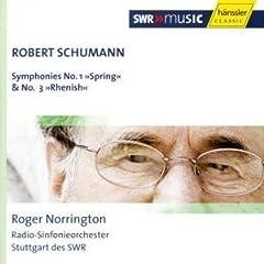 輸入盤 ノリントン指揮/シュトゥットガルト放送響 シューマン:交響曲第1番《春》&第3番《ライン》のAmazonの商品頁を開く