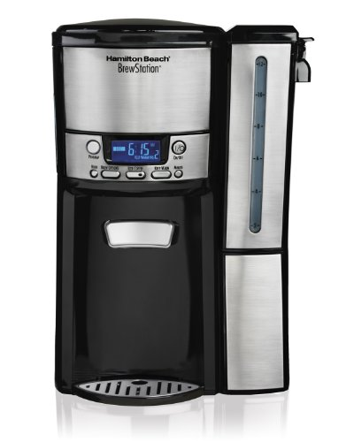 Hamilton Beach 47950 12-Cup BrewStation Dispensing