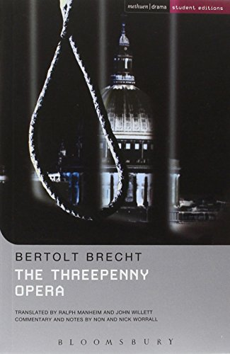 threepenny opera essays Access to over 100,000 complete essays and term  epic theatre turns the spectator into an  edward 2, the threepenny opera, rise and fall of the town of.