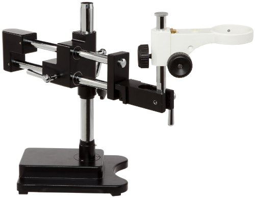 Ample Scientific Bmsd-Da Stainless Steel Dual Arm Stereo Microscope Table Top Boom Stand