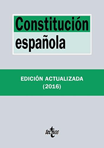 Constitución Española (Derecho - Biblioteca De Textos Legales)